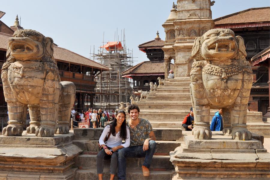 The cultural tour in Kathmandu