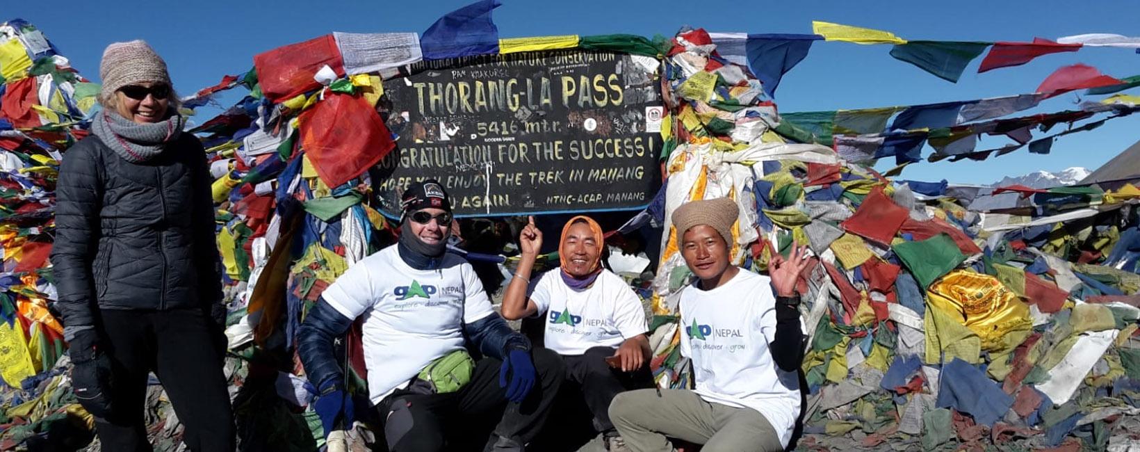 Adventure Annapurna Circuit with Volunteering